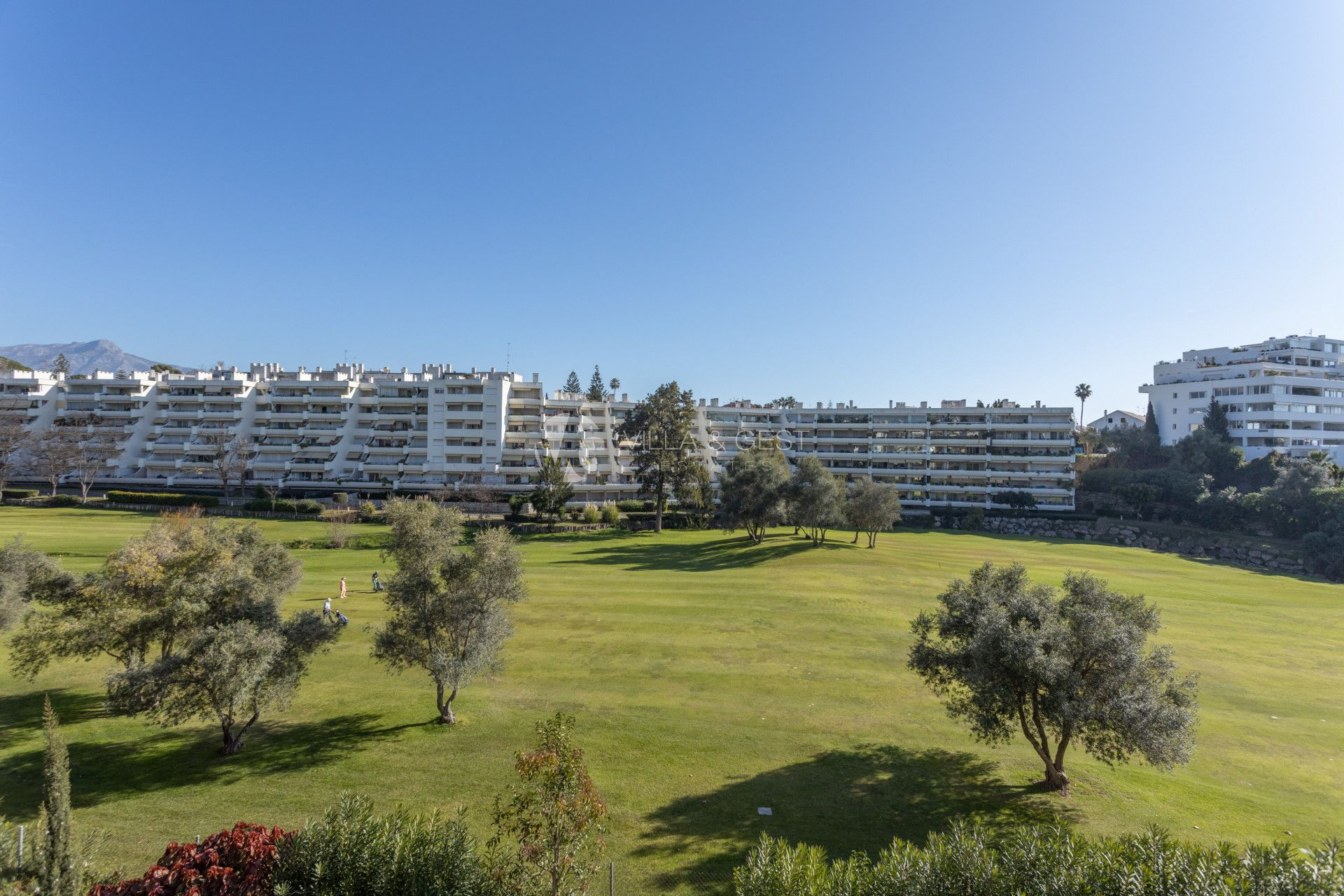 GEORGEUS APARTMENT FRONT LINE GOLF IN GUADALMINA
